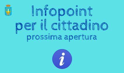 Apertura InfoPoint per il cittadino